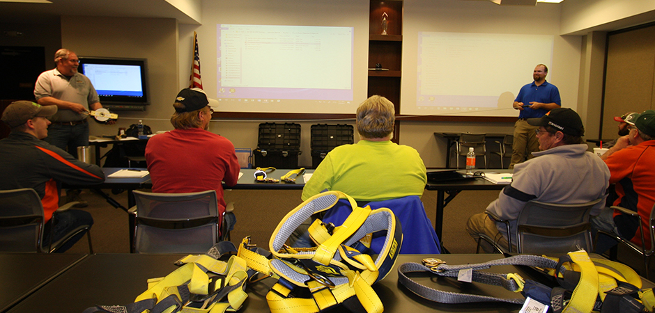 harness safety class