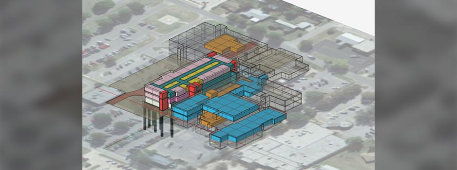 5D BIM computer design rendering