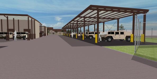 Design-Build facility expansion for Fort Campbell