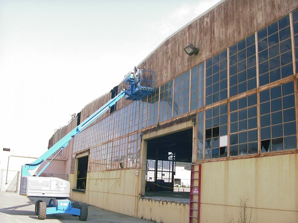 USPS distribution center - Daly City, CA. The old building required total gutting, rehab and full-scale seismic retrofitting.