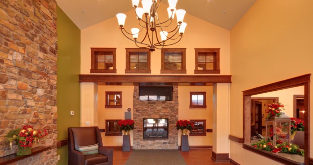 Senior Living Interior Design The Korte Company