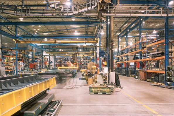 warehouse equipment interior