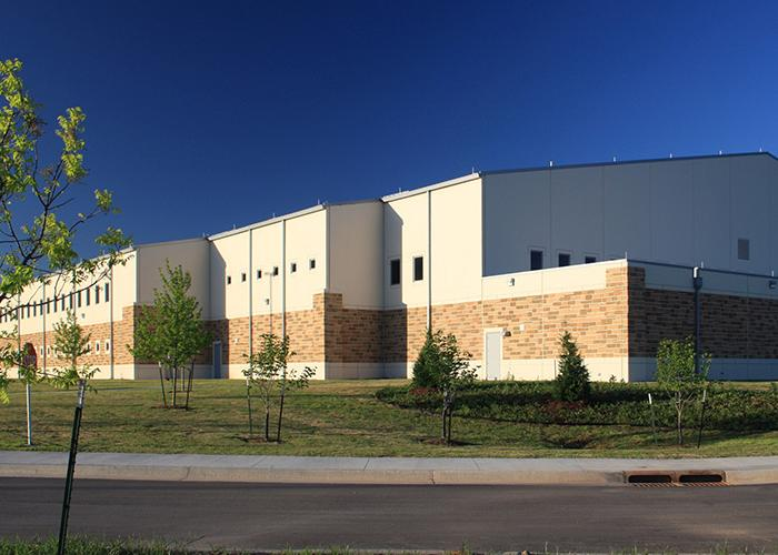 Housing construction - Armed Forces Reserve Center Norman, OK exterior