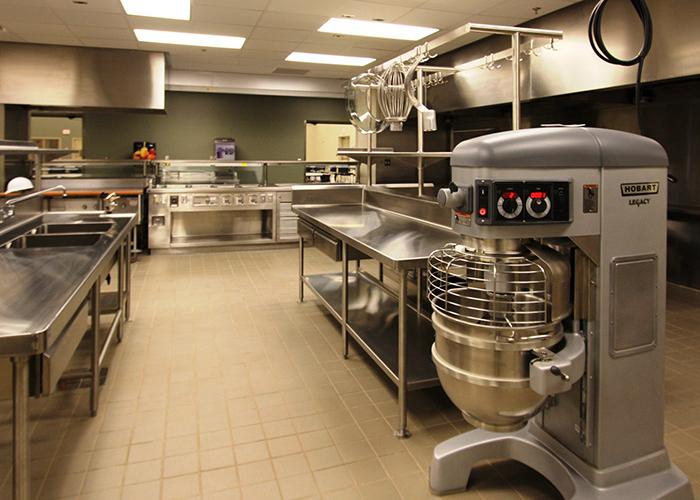 Housing construction - Armed Forces Reserve Center Norman, OK kitchen