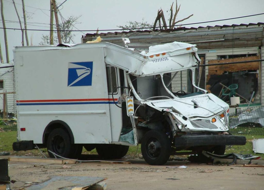 Jackson Tennessee USPS Tornado Disaster