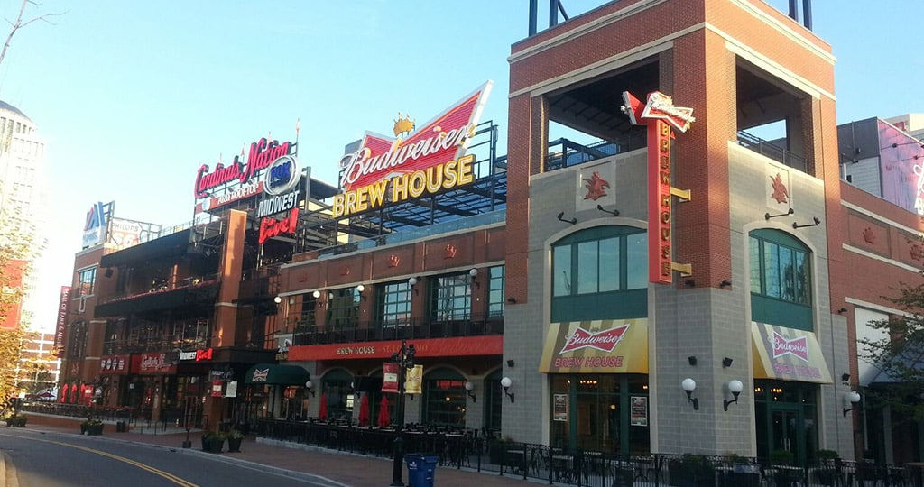 Ballpark Village by Caliber Cast Stone.
