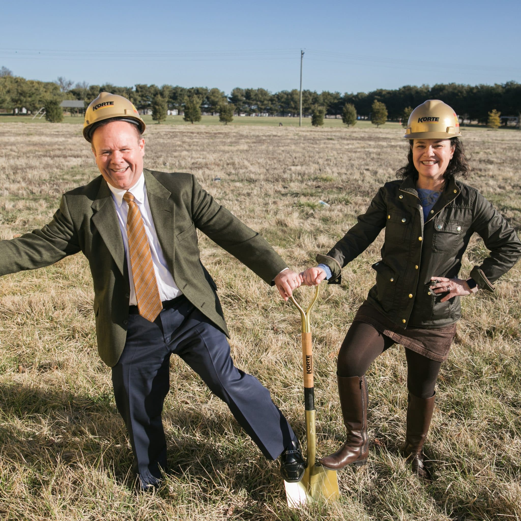 Todd Korte and Judy Glik, 2020